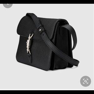 Gucci soft Jackie shoulder bag black